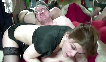 Ihre erste erotische filme kostenlos extreme Anal-Gangbang-Orgie